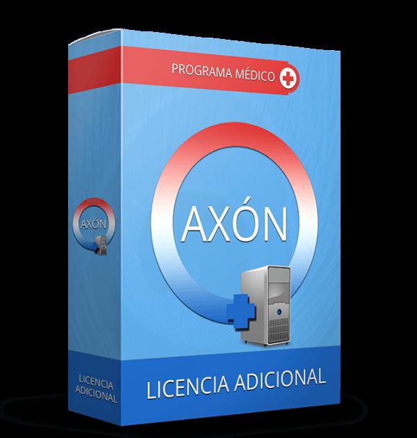 software medico axon licencia adicional